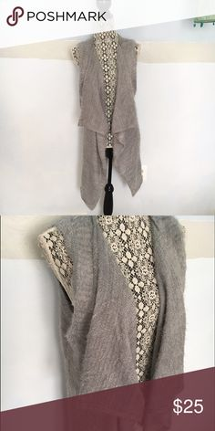 Fuzzy grey vest Brand new without tags. Size small but runs big United States Sweaters Jackets & Coats Vests