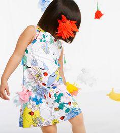 Stunning story print at Anne Kurris for spring 2015 kidswear