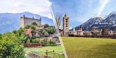 Via Francigena [Piedmont]: San Bernardo-Aosta-Vercelli with ViewRanger GPS Tower Bridge, Travel, Santiago, Drive Way, Viajes, Traveling, Trips, Tourism