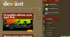 Free Deviant Wordpress Theme ver 3.8 - http://wordpressthemes.im/free-deviant-wordpress-theme-ver-3-8/