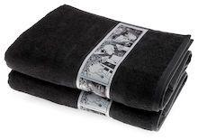 Sarjakuva-Muumipappa-kylpypyyhe ~37,90 €, saa myös isoista marketeista