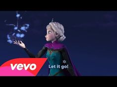 "Idina Menzel - Let It Go (from ""Frozen"") (Sing-Along Version). Hands-down favorite song from Frozen."