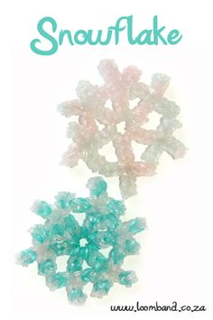 Snowflake loom band tutorial, instructions and videos on hundreds of loom band designs. Shop online for all your looming supplies, delivery anywhere in SA.