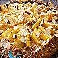 Tarte Framboises Crème Brûlée - A mes nuits blanches Cop Cake, Snack Recipes, Snacks, Mousse, Bracelets, Food, Almonds, Waffles, Sprouts