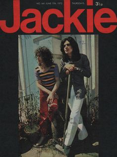 Jackie Magazine 17 June 1972 No.441  Middle of The Road  Marc Bolan Noel Edmonds