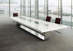 2013 new modern and elegant artificial marble conference table design office table design meeting table Conference Table Design, Round Conference Table, Modern Office Table, Office Desk, Table And Chairs, Dining Table, Communal Table, Meeting Table, Office Interiors