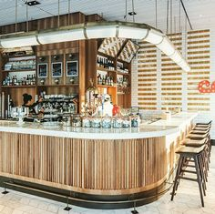 Atelier de Troupe Custom Bar Pendant for Corso Buckhead.   Exquisite.  Interior Design by sldesign llc