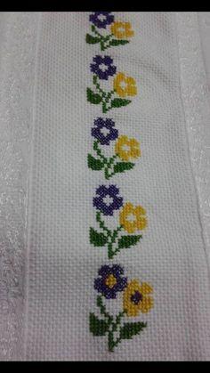 The most beautiful cross-stitch pattern - Knitting, Crochet Love Cross Stitch Bookmarks, Cross Stitch Borders, Cross Stitch Alphabet, Cross Stitch Samplers, Cross Stitch Flowers, Cross Stitch Designs, Cross Stitching, Cross Stitch Embroidery, Embroidery Patterns