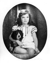 A young Jacqueline Lee Bouvier. [Image source: www.jfklibrary.org]