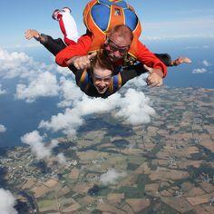 Saut en parachute et parachutisme à Belle-île-en-Mer