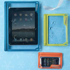 The Container Store > e-Series™ Cases The green one so I can read my Kindle in the pool