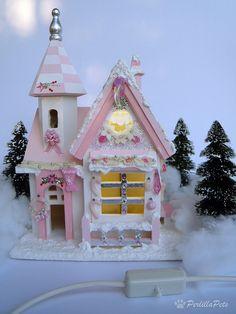 pretty putz house