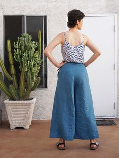 Me Made Summer Outfit – Ogden Cami and Flint Pants | Sew DIY