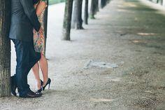 Romantic Paris anniversary shoot at the Palais Royale : Rhianne Jones Photography