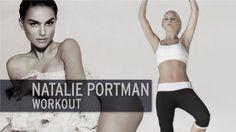 Natalie Portman Workout - YouTube