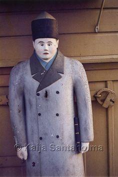 Poor man statue, Finland/ Himangan vaivaisukko Finland, Statue, Jackets, Art, Fashion, Down Jackets, Art Background, Moda, Fashion Styles
