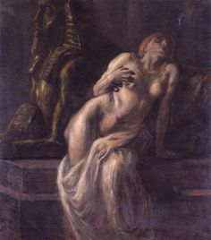 Cleopatra - Gaetano Previati  1903