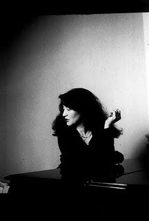 One of my favourite pianists ... Martha Argerich.  When I had long hair, some people said I reminded them of her which I took as a HUGE compliment.
