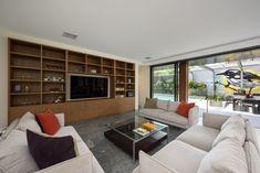 Interior Designer Williamstown and House Designer in Melbourne Interior Designers Melbourne, Create A Family, Drawer Storage, Stone Flooring, Media Center, Joinery, Open Shelving, Building Design, Custom Design