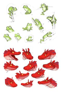 Resultado de imagen de room on the broom concept art Frog Illustration, Character Illustration, Dinosaur Sketch, Cute Drawlings, Really Cool Drawings, Room On The Broom, Sketching Tips, Learn Art, Cute Monsters