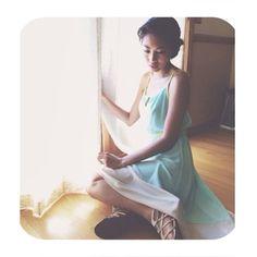 #flashback @danilla_23 #WillowClay #HighLowDress #fashion #style www.willowclay.com