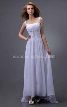 US$85.55-Simple Chiffon Long Bridesmaid Dress With Shoulder Straps. http://www.newadoringdress.com/chiffon-maix-ruched-dress-with-straps-and-sweep-train-pGC_312029.html. Shop for long dresses, designer dresses, casual dresses, occasion dresses, backless dresses, elegant dresses, black tie dresses, We have great 2016 fall bridesmaid dress for sale. Avialble in Gold, Yellow, Pink, Lavender Burgundy, Peach…#NewAdoringDress.com