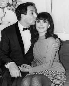 Danny Thomas and Marlo Thomas. From my family to your family, thank you for St. Danny Thomas, Marlo Thomas, Vintage Hollywood, Classic Hollywood, That Girl Tv Show, Hollywood Actresses, Actors & Actresses, Recent Movies, All In The Family