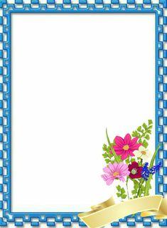 Here's Flower Background Design, Poster Background Design, Kids Background, Frame Border Design, Boarder Designs, Page Borders Design, Boarders And Frames, Presentation Backgrounds, Doodle Frames