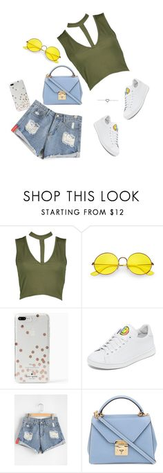 """""""ab"""" by blackmagic-k on Polyvore featuring Boohoo, Ray-Ban, Kate Spade, Joshua's and Mark Cross"""