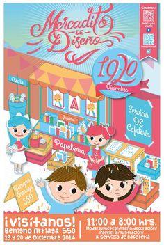 Cartel dem Mercadito de Diseño 1º Edición