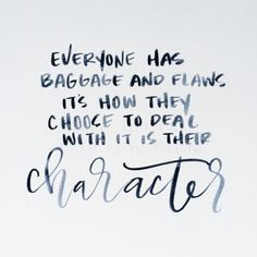 Have Good Character