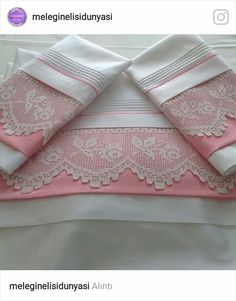 Linen Bedding, Bedding Sets, Bed Cover Design, Hand Designs, Bed Covers, Crochet Lace, Tea Towels, Bed Sheets, Tatting