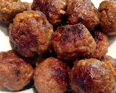 Meatballs 1 lb extra lean ground beef 1 egg 1 cup water 1 package stove top stuffing mix (any flavour) Mix all ingredients together Roll into 20 meat balls Spray a pan with non-stick cooking spray,...