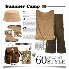 How To Wear Summer Camp Outfit Idea 2017 - Fashion Trends Ready To Wear For Plus Size, Curvy Women Over 20, 30, 40, 50