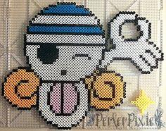 Nami's Jolly Roger - One Piece perler beads by PerlerPixie on deviantART