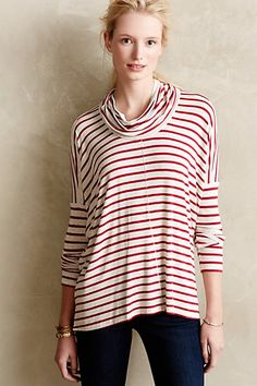 striped tunic top #anthrofave