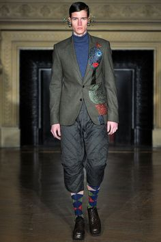 Walter Van Beirendonck | Fall 2013 Menswear Collection | Style.com