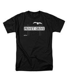 This Black Harry Potter 'Privet Drive' Tee - Adult is perfect! #zulilyfinds
