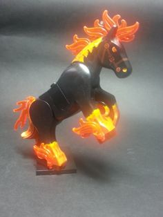 The Dar Horse has Arrived Lego Custom Minifigures, Lego Minifigs, Lego Army, Lego Military, Lego Memes, Lego Creative, Eagle Painting, Lego Halloween, Lego Animals