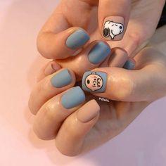fashion fake nails press girl finger beauty fake plastic nails nail art full coverage fake nail art tips Nail Art – Page 3 – Nana's Corner Beauty Cosmetic Cute Nail Art, Nail Art Diy, Diy Nails, Cute Nails, Pretty Nails, Food Nail Art, Korean Nail Art, Korean Nails, Snoopy Nails