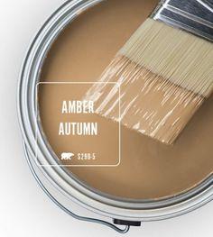 Oooooo I like this Carmel color Behr Paint Colors, Room Paint Colors, Interior Paint Colors, Paint Colors For Home, Bedroom Colors, Wall Colors, House Colors, Interior Plants, Paint Schemes