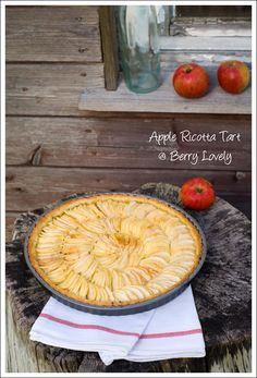 Berry Lovely: Apple Ricotta Tart