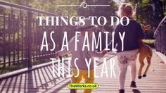 It already seems as if January has been going on for about three years. While time is dragging, why not think about putting some fun events on the calendar to do as a family this year. If one of your new year's resolutions is to spend more time together as a family, this is for you!
