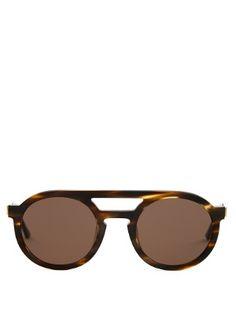 Gravity round-frame sunglasses | Thierry Lasry | MATCHESFASHION.COM US