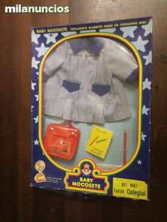 TRAJE COLEGIO MOCOSETE - foto 1 My Childhood, Spanish, Lunch Box, Dolls, Baby, Vintage, Products, Childhood Memories, Old Fashioned Toys