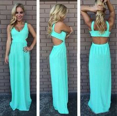 $26.00 | Chiffon Pure color sexy dress BB918CA