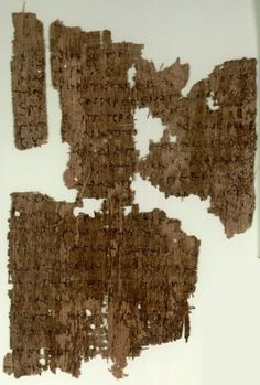 Papyrus manuscript fragments of the Gospel of John from an early copy of a New Testament in Greek. The surviving texts of John are verses 1:29-35; 1:40-46. Found at Oxyrhynchus, Egypt, dates from around 250 AD and it is currently housed at the Papyrology Rooms of the Sackler Library at Oxford with the shelf number P. Oxy. 4445.
