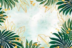 Download Nature Background With Golden Foil for free