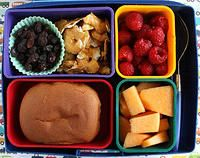 This is a great blog featuring bento box lunches for kids