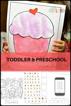 Toddler and Preschool Activity Pages.
